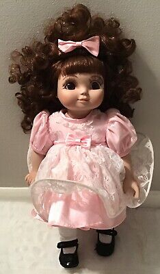 "MARIE OSMOND ADORA BELLE PORCELAIN DOLL 1997 14"" TALL"