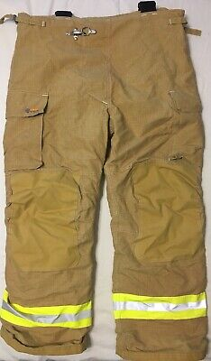 Innotex Fire Fighter Turnout Pants W Suspenders Crosstech Nomex Ptfe Xl32