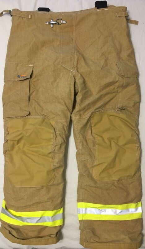 Innotex Fire Fighter Turnout Pants w/ Suspenders Crosstech Nomex / PTFE XL32