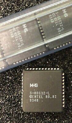 - INTEL S80C32-L  Microcontroller, 8-Bit, 8051 CPU, 6MHz, CMOS, PQCC44 **NEW**