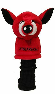 - ARKANSAS RAZORBACKS Jumbo Team Mascot Driver Headcover   NCAA Licensed