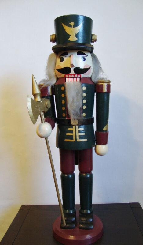 """Nutcracker Wooden Figurine - 19 1/2""""H"""