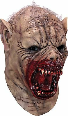 Halloween  Costume FARKAS MENACING WEREWOLF LATEX DELUXE MASK Haunted House NEW](Deluxe Werewolf Halloween Costume)