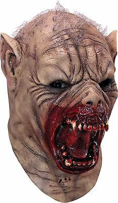 Halloween  Costume FARKAS MENACING WEREWOLF LATEX DELUXE MASK Haunted House NEW