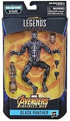 Marvel Legends Vibranium Energy Black Panther Wave 2 Presale M'Baku BAF