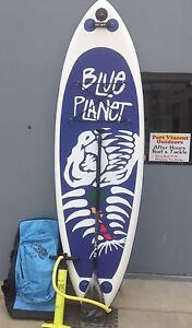 Inflatable SUP Stand Up Paddle Board Blue Planet Port Vincent Yorke Peninsula Preview
