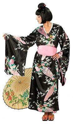 RUB 13426 Damen Kostüm Japanerin Japanese Woman Girl Geisha Asia Kimono (Asian Girl Kostüm)