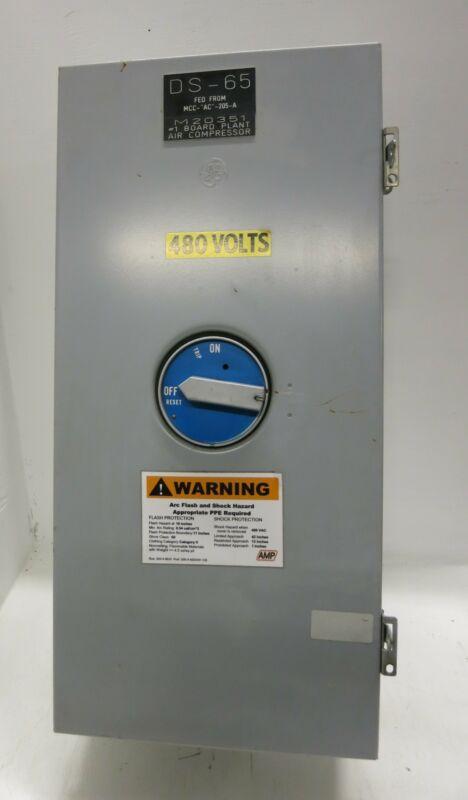 General Electric SG400J Circuit Breaker Enclosure w 400 Amp Breaker SGLA36AT0400