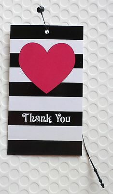 100 Hang Tags Accessories Tags Cute Heart Clothing Tags W 100 Plastic Loops