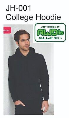 JH001 College Hoodie Sweatshirt - Just Hoods by All We Do is AWDis