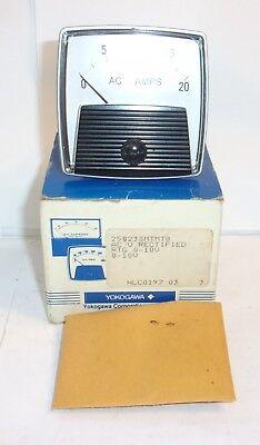 Ge General Electric Yokogawa Panel Meter 25023mtmt8 10 Volts New In Box