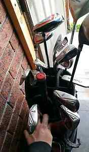 Maxfli golf clubs LEFT HANDED Hobart CBD Hobart City Preview
