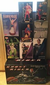 MARVEL AND DC STATUES ( ALL MINT )