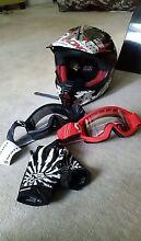 KIDS FOX Dirt Bike Riding Gear Bundle Helmet, Goggles, & more Lidcombe Auburn Area Preview