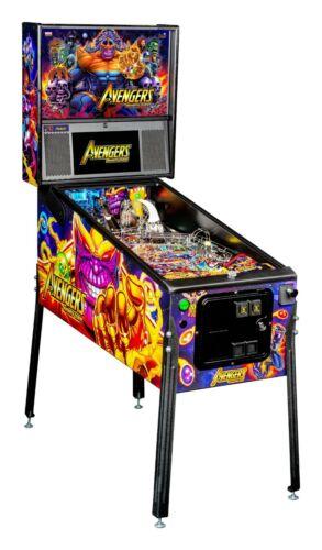 Stern Avengers Infinity Quest Premium Pinball Machine  Ships Late April