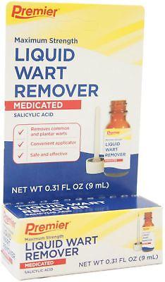 Premier Liquid Wart Remover  Maximum Strength 0 31 Oz