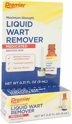 Premier Wart Remover Liquid, Maximum Strength 0.5 oz
