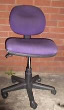 office chair, purple cloth padding, good conds Granville Parramatta Area Preview