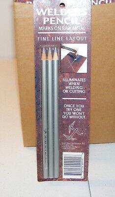 Silver Mine Welders Welding Pencils Lot Shop Supply Qty 3- Pencils