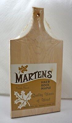 Vintage Hard Rock Maple Paddle Board by Martens Mfg 7