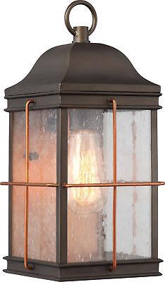 Nuvo Howell 1 Light Medium Outdoor Wall Fixture with 60w Vintage Lamp (Medium Outdoor Wall Lamp)