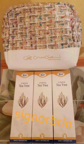 3 creme tea tree just crema cicatrizzante+pochette Cruciani patchwork in omaggio