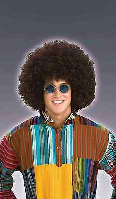 Jumbo Afro Hippie 60s Wig Adult Costume Accessory Brown One Size - Afro Hippie Costume
