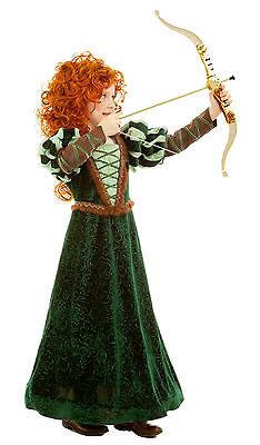 Forest Princess Merida Brave Costume Dress Child Girls 3T 3 4T 4 5 6 7 8 9 10 - Brave Merida Costume