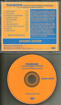 FISHBONE Psychotic ADVNCE PROMO CD w/ JOHN FRUSCIANTE George Clinton NO DOUBT