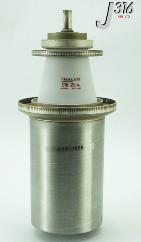 7926 THALES HIGH FREQUENCY METAL CERAMIC POWER TRIODE TUBE CTK 25-4
