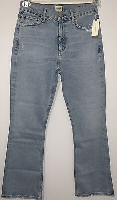 Citizens of Humanity Demy Cropped Flare Denim Jeans Women's Size 26 New