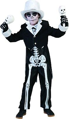 Halloween Kostüm Horror Bräutigam Gr. 140 2tlg Overall und Frack Kinder Kostüme