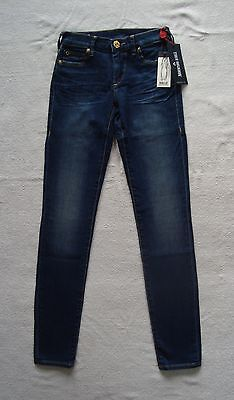 True Religion Nwt Halle Mid Rise Super Skinny Mid Wash Blue Jean Nwt Size 24