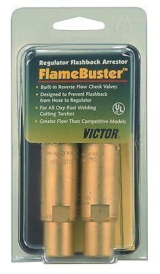 Victor Regulator Flashback Arrestor Fbr-1 Flamebuster 0656-0004 Oxyfuel