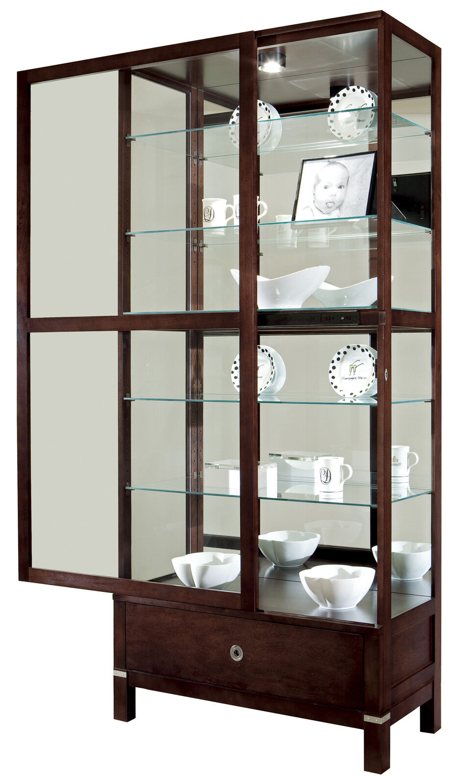 Howard Miller 680 515 Williamson Curio Display Cabinet