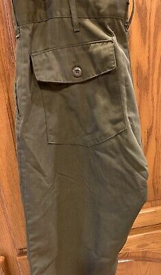 Vtg Aramid Wildland Firefighter Pants Trousers Forest Service Fire Green 36 X 32