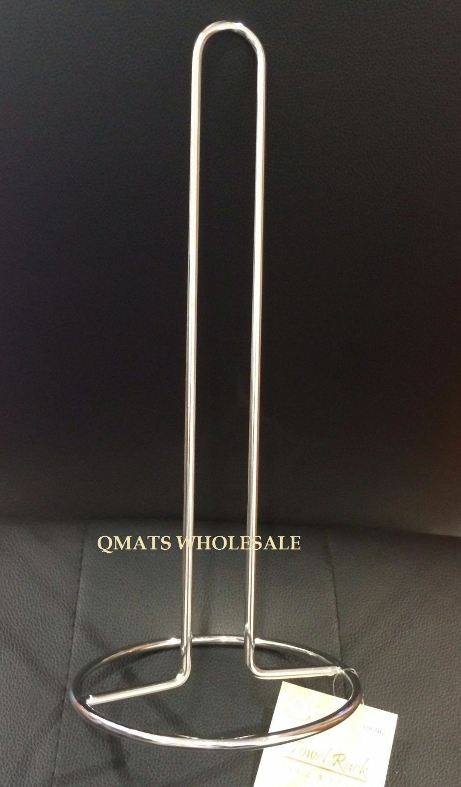 NEW CHROME KITCHEN PAPER TOWEL HOLDER STAND RACK WHOLESALE