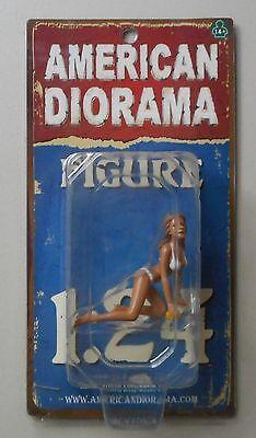 """BARBARA In Bikini WASH GIRL AMERICAN DIORAMA 1:24 Scale Figurine 2.5"""" Figure"""