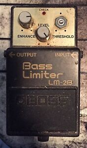 BOSS bass limiter pedal needs repair LM-2B