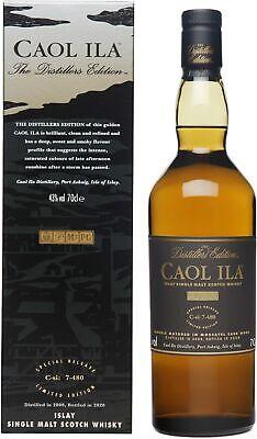 Caol Ila Whisky Distillers Edition 2008/2020 Limited Edition 0,7l