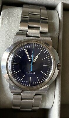 Men's Vintage Omega Geneve Dynamic Wrist Watch GWO