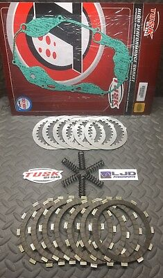 Used, YAMAHA BANSHEE 350 1987–2006 Tusk Clutch Kit Gasket Springs Friction Plates for sale  Shipping to Canada