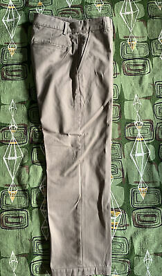 Noon Goons No Doubt Khaki Beige Pants Made In USA 32