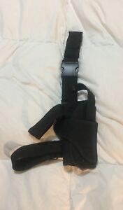 PAINTBALL BLACK DROP LEG HOLSTER