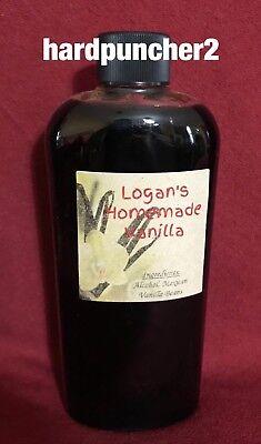 Homemade Mexican Vanilla Beans Extract 8 Oz