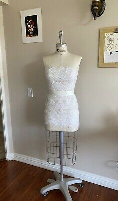 Pro Female Half Body Dress Form With Collapsible Shoulders - Size 8