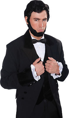 ADULT PRESIDENT ABE LINCOLN WIG AND BEARD SET COSTUME ACCESSORY FM69841