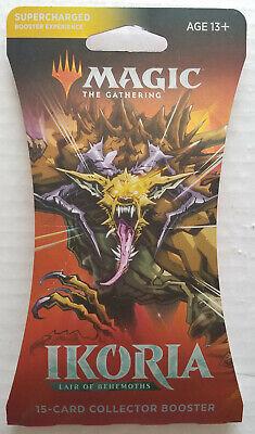 Ikoria Lair of Behemoths COLLECTOR Booster Pack MTG Magic Godzilla Varient