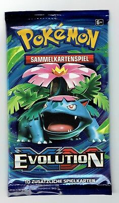 Pokemon Booster XY Evolution Neu OVP
