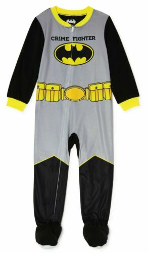 NEW BATMAN  Footed Pajamas Blanket Sleeper Toddler